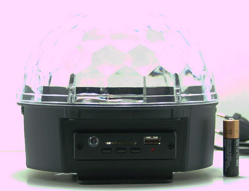 Светодиодный диско шар M-6 (LD-14) USB