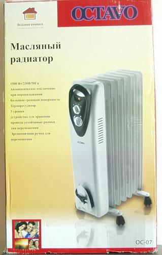 Обогреватель маслянный электр. OC-07