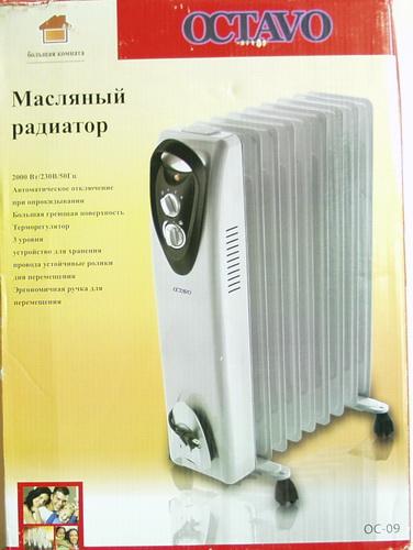 Обогреватель маслянный электр. OC-09