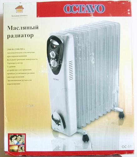 Обогреватель маслянный электр. OC-11