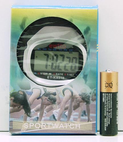Часы-секундомер ET-K9318 (018)