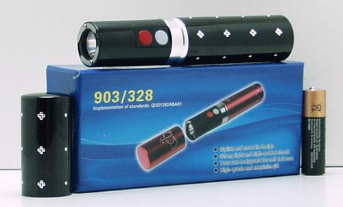 Электрошокер с фонариком №328 (помада)