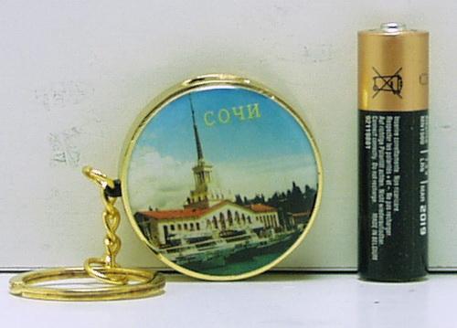 Зажигалка  №J-87SQ (Сочи) кругл.