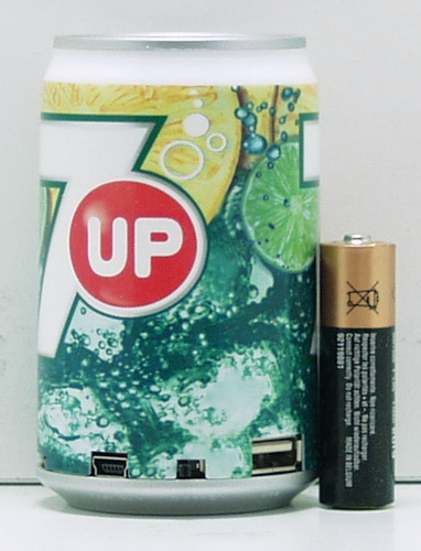 Колонки MP3 с FM-прием.,USB, SD банка (COLA, PEPSI,..) SY-01 мал.