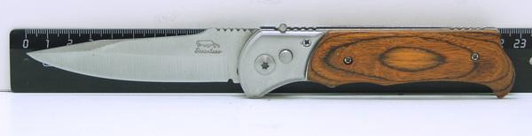 Нож 556 (A-556A) с дерев. руч. выкидн.