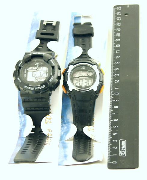 Часы наручные мужские с подсветкой в ассортименте