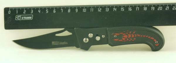 Нож 709 (KA709) выкид, СOLUMBIA