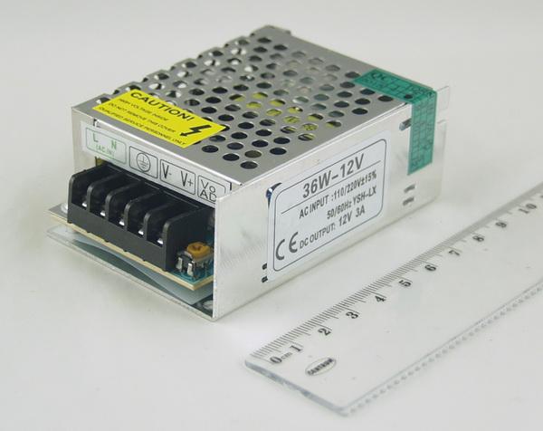 Блок питания для в/кам. (3A 12V) CD-36W