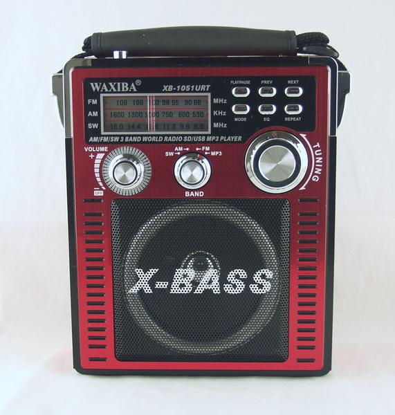 XB-1051 FM/AM/SW 3 Bands SD,USB (AC&DC)