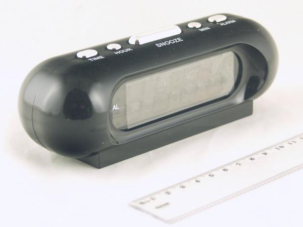 Часы-буд. электронные VST-716-6 (бел. циф.)