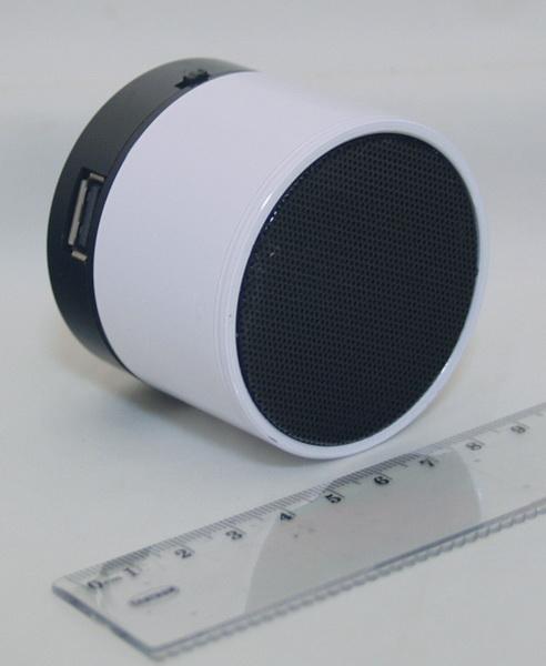 Колонки MP3 с FM-прием., USB, SD S-10 Bluetooth