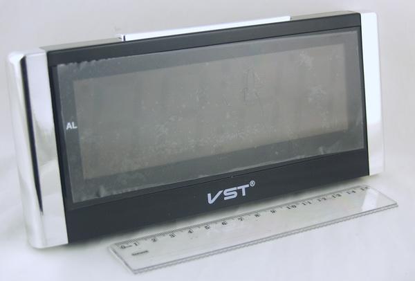 Часы-буд. электронные VST-731-6 (бел. циф.)