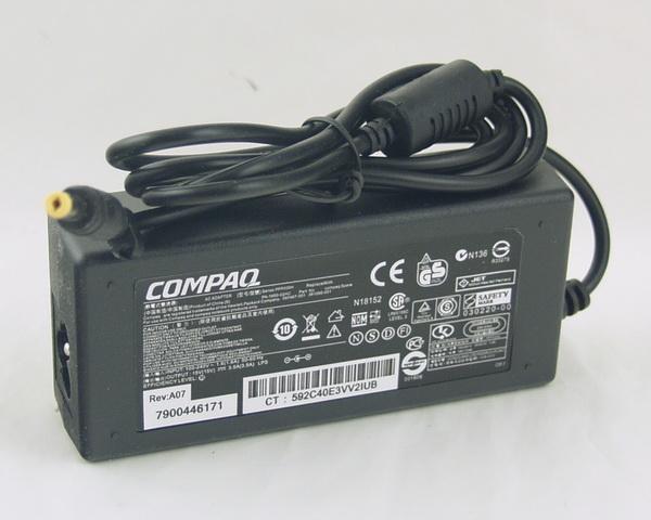Блок питания для ноутбука (15V 3,5A 4,74*1,7) COMPAQ