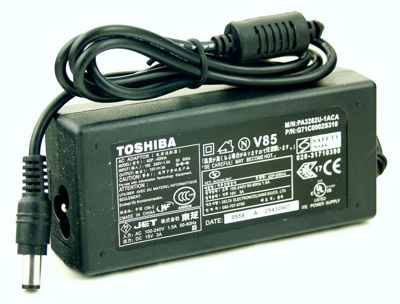 Блок питания для ноутбука (15V 3A 6,3*3,0) TOSHIBA
