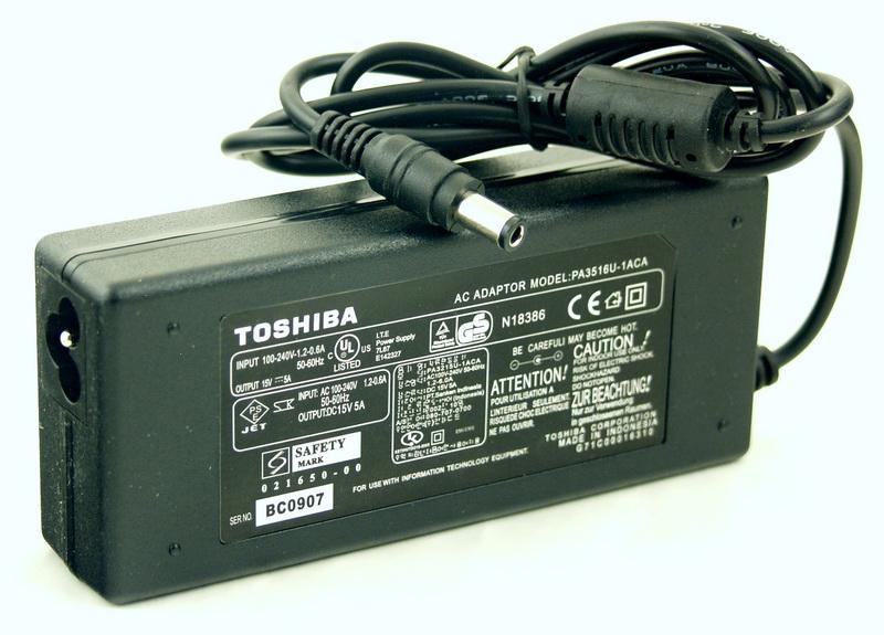 Блок питания для ноутбука (15V 5A 6,3*3,0) TOSHIBA