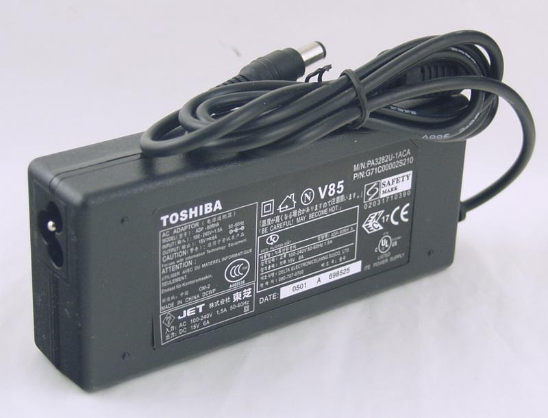 Блок питания для ноутбука (15V 6A 6,3*3,0) TOSHIBA