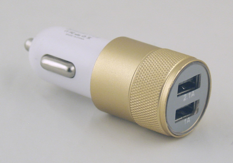 Блок питания для MP3 (2 USB,без шн.) 5V 2,1/1A прикур. C-5018