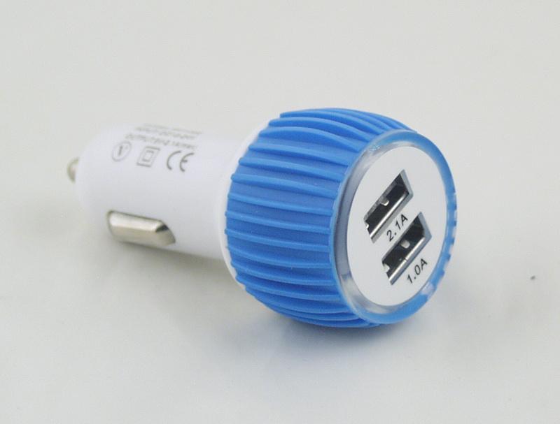 Блок питания для MP3 (2 USB,без шн.) 5V 2,1/1A прикур. XK-Y002
