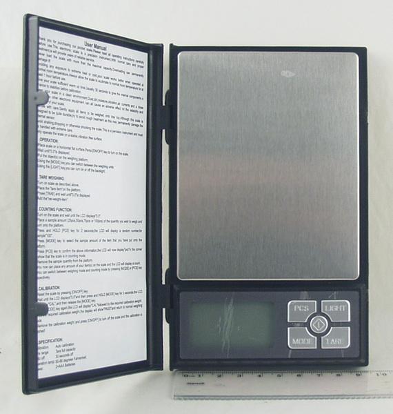 Весы ювелирные 500г / 0,1г SF-820