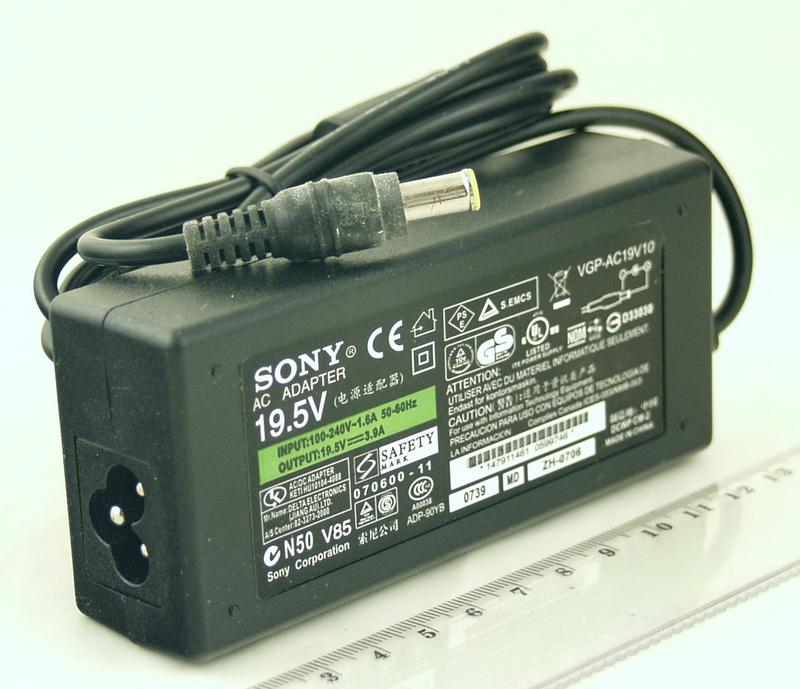 Блок питания для ноутбука (19,5V 3,9A 6.0) SONY