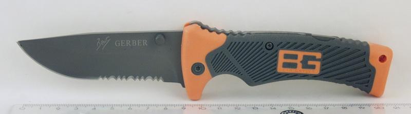 Нож 113C (BG-3) больш., раскладн. в чехле GERBER