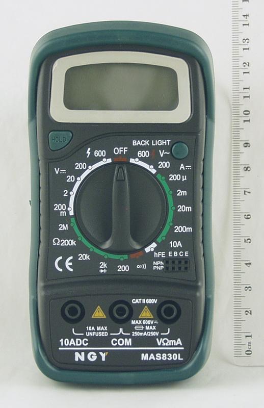 Цифровой Мультиметр MAS-830 L (в калоше, с оп.)