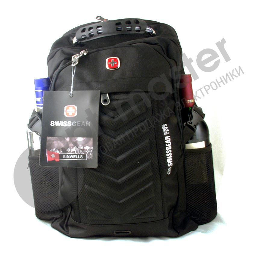 Рюкзак с разъемом (3отдел., 2бок.+ 1внеш. карм. 48*32см) №1419 (8826)SWISS