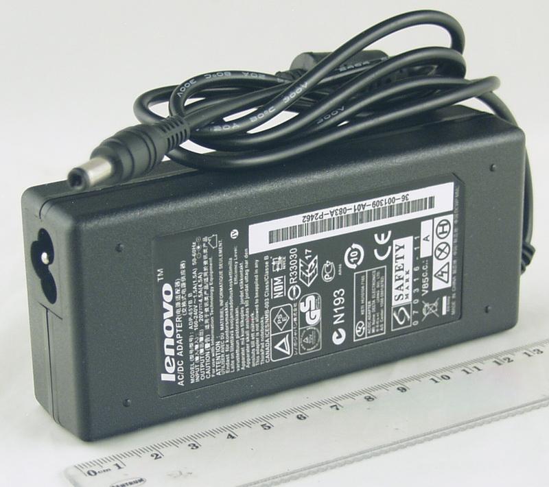 Блок питания для ноутбука (20V 4,5A 5,5*2,5) Lenovo