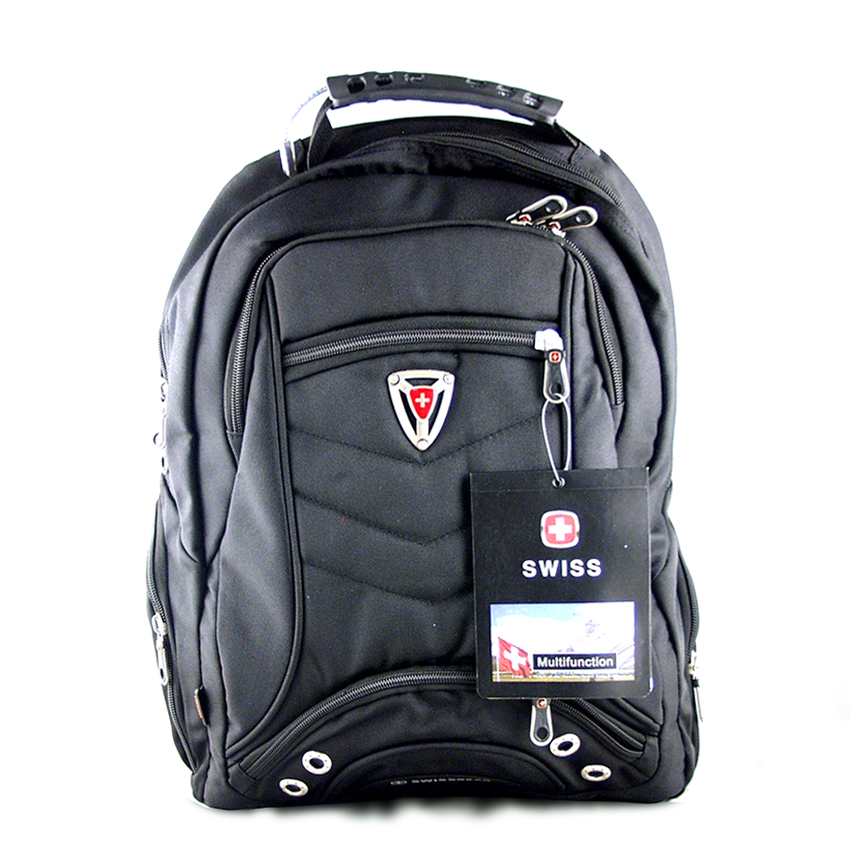 Рюкзак с разъемом (2отдел., 2бок.+ 2внеш. карм. 48*32см) №1565 SWISS