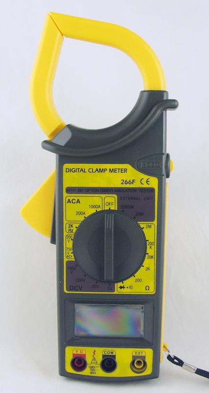 Клещи токоизмерительные DT-6266F (266F)