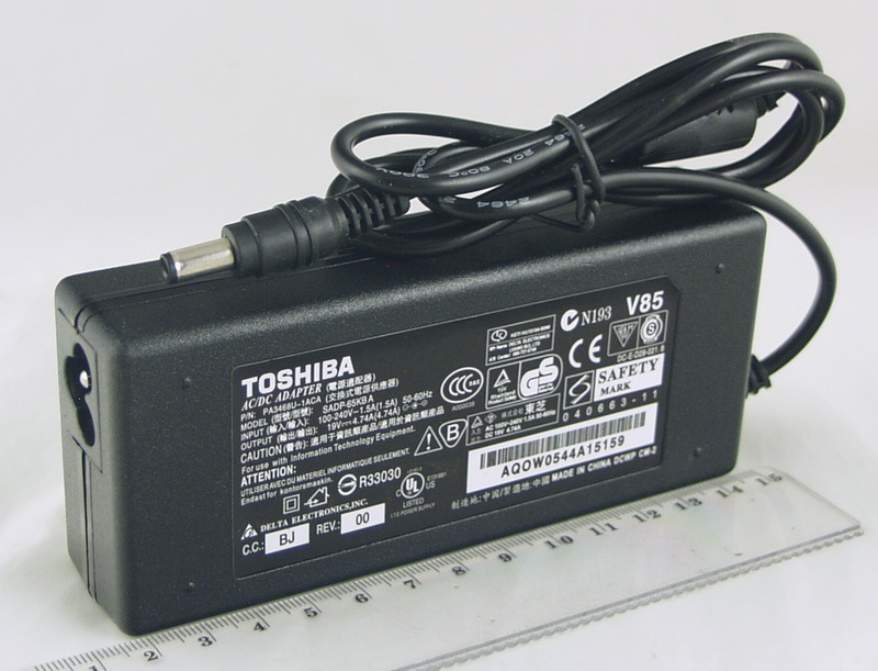 Блок питания для ноутбука (19V 4,74A 5,5*2,5) TOSHIBA