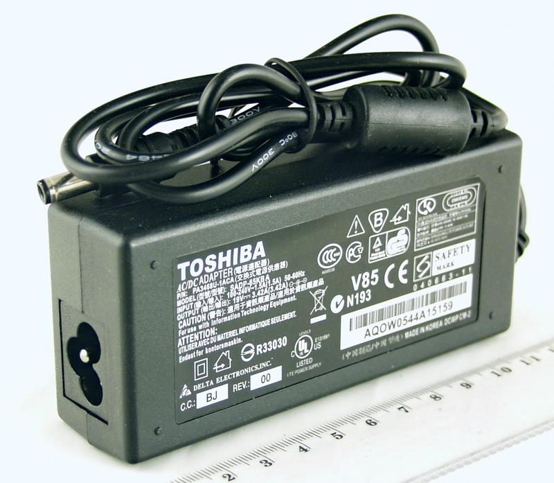 Блок питания для ноутбука (19V 3,42A 5,5*2,5) TOSHIBA