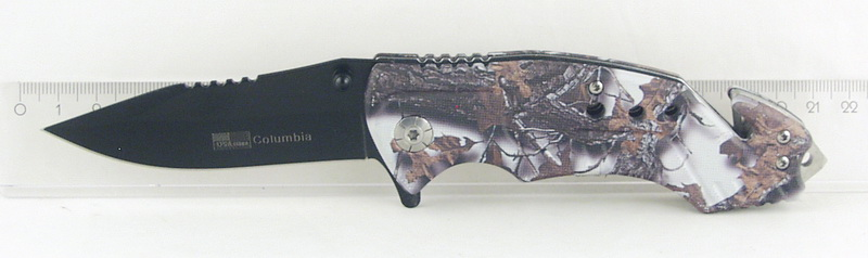Нож 210 (AC-F210) раскладн. зелен. Columbia