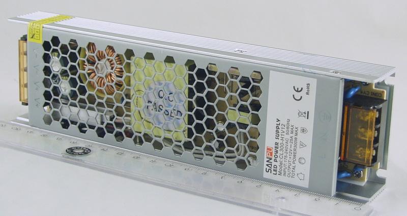 Блок питания для в/кам. (25A 12V) CD-300W SANPU 7 выход.