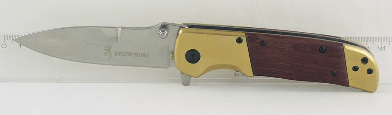 Нож 69 (DA69) с дерев. руч. расклад. BROWNING