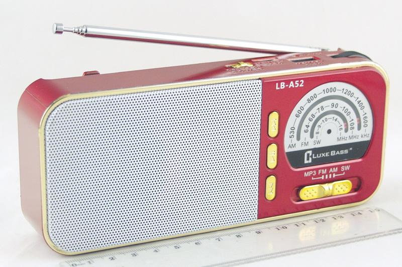 LB-A52 (FM 64-108,AM 3 Band) SD, USB