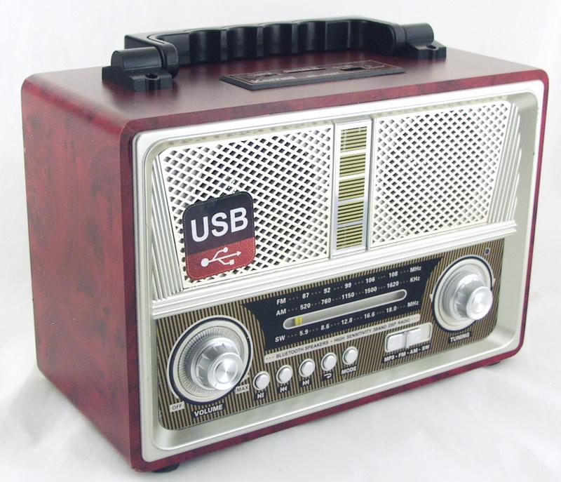 M-D1802BT 3 band (FM/AM/SW) USB, SD, Bluetooth ретро сетев./4R20