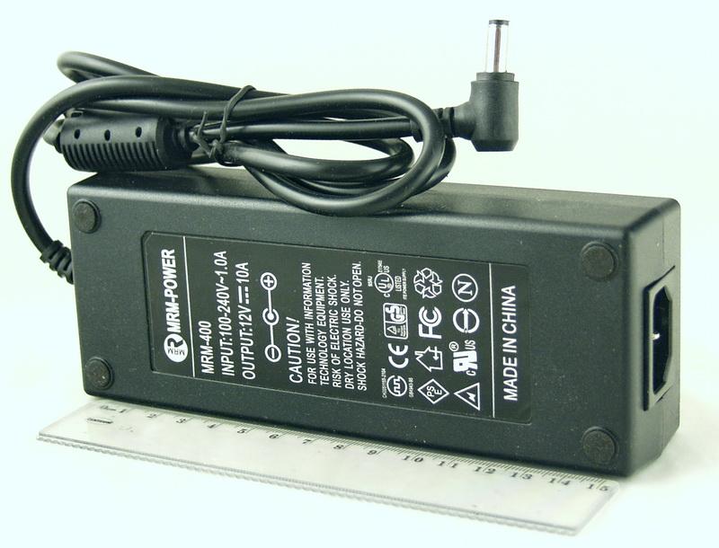 Блок питания для в/кам., DVD (10A 12V) LP-400 толст. шт. (5,5*2,5) MRM