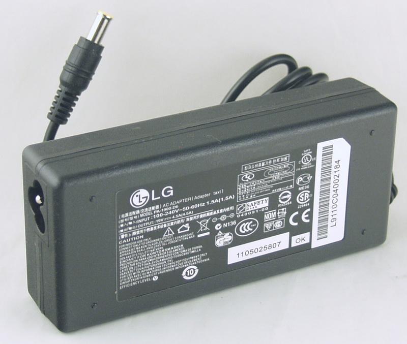 Блок питания для ноутбука (19V 4,5A 6,5*4,4 (6,0)) LG