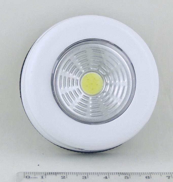 Фонарь светодиодный (1 больш. лампа, 3AAА кругл.) №003COB