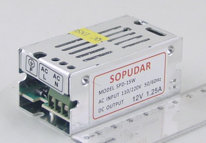 Блок питания для в/кам. (1,25A 12V) CD-15W