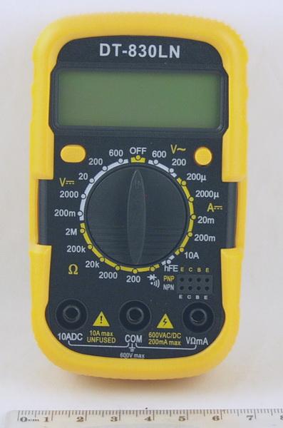 Цифровой Мультиметр DT-830LN мал. (в калоше)