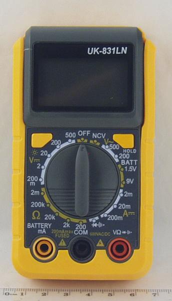 Цифровой Мультиметр DT-831LN мал. (в калоше)