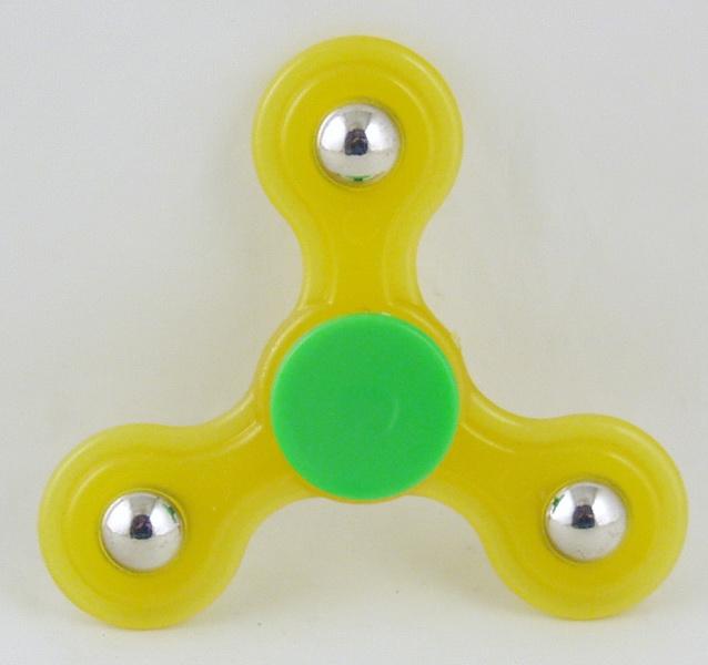 Спиннер пластиковый 3 лопасти прыгающ. TS-2