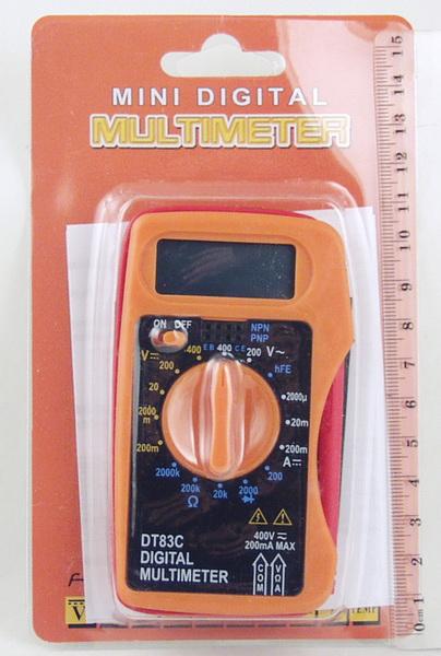 Цифровой Мультиметр DT-83 C (с описанием.)