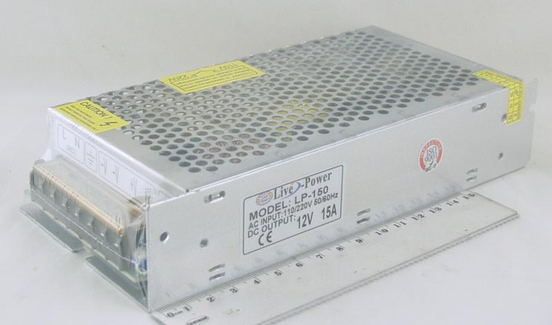 Блок питания для в/кам. (15A 12V) LP-150 180W