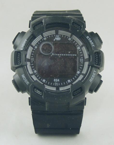 Часы наручные мужские с подсветкой №318