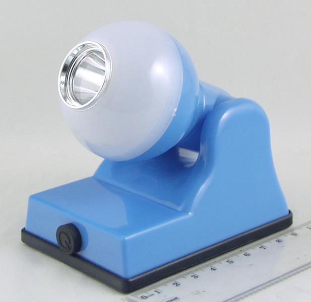 Фонарь светодиодный (1 больш.+ 1ярк., 3AА) №9001A