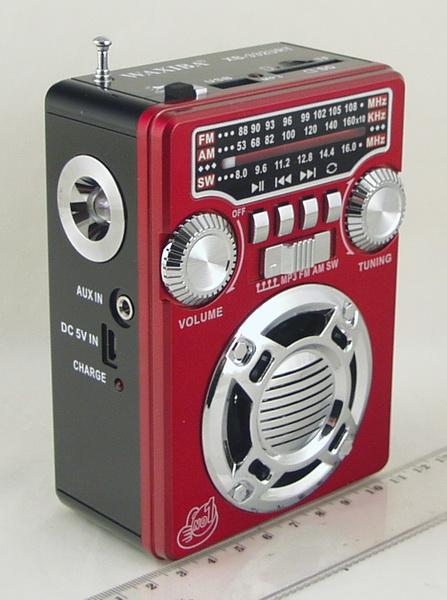 XB-332 (FM, AM 4 Band) SD, USB