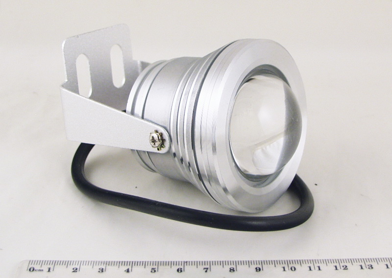 Фары светодиодные 1 больш. 10W (противотуман.) кругл. CD-1